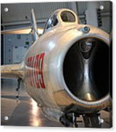 Udvar-hazy Center - Smithsonian National Air And Space Museum Annex - 121243 Acrylic Print