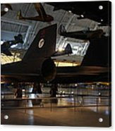 Udvar-hazy Center - Smithsonian National Air And Space Museum Annex - 121247 Acrylic Print by DC Photographer