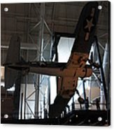 Udvar-hazy Center - Smithsonian National Air And Space Museum Annex - 121248 Acrylic Print