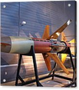 Udvar-hazy Center - Smithsonian National Air And Space Museum Annex - 121260 Acrylic Print by DC Photographer