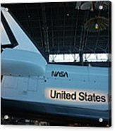 Udvar-hazy Center - Smithsonian National Air And Space Museum Annex - 121276 Acrylic Print