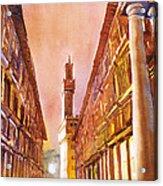 Uffizi- Florence Acrylic Print