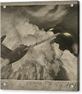 Ufo-1951 Acrylic Print by Akos Kozari