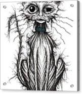 Ugly Cat Acrylic Print