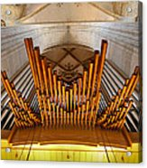 Ulm Pipe Organ Acrylic Print