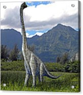 Ultrasaurus In Meadow Acrylic Print
