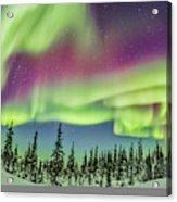 Ultrawide Aurora 4 - Feb 21, 2015 Acrylic Print