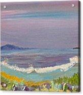 Ulua Beach At Sunset Acrylic Print