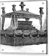 Ulysses Grant Funeral Acrylic Print