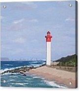 Umhlanga Lighthouse Durban Acrylic Print