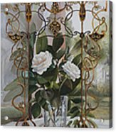 Una Finestra Liberty Acrylic Print