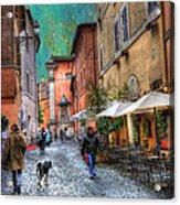 Una Notta A Roma Acrylic Print