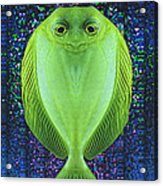 Uncle Fish Drops By For Dinner Acrylic Print