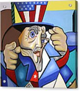Uncle Sam 2001 Acrylic Print