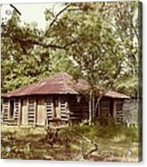 Uncle Toms Cabin Brookhaven Mississippi Acrylic Print