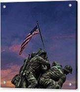 Uncommon Valor Was A Common Virtue Acrylic Print