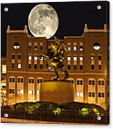 Unconquered Doak Campbell Full Moon Acrylic Print