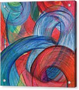 Uncovered Curves-vertical Acrylic Print by Kelly K H B