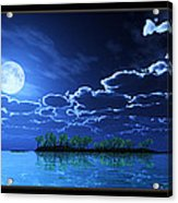 Under A Silvery Moon... Acrylic Print