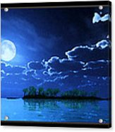 Under A Silvery Moon...artistic Effect Acrylic Print