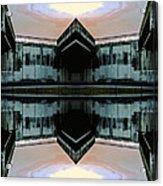 Under Bridge Ornament Acrylic Print