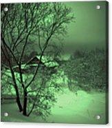 Under Green Moon Acrylic Print