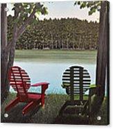 Under Muskoka Trees Acrylic Print