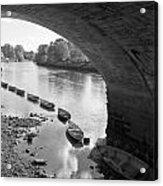 Under Richmond Bridge Acrylic Print