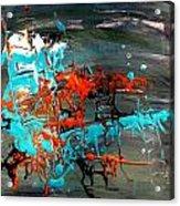 Under Sea Ladders 3 Acrylic Print