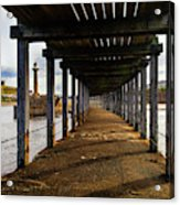 Under-section Below The West Pier Acrylic Print