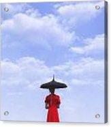 Under The Blue Sky Acrylic Print