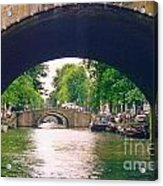 Under The Canals Acrylic Print
