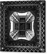 Under The Eiffel Acrylic Print