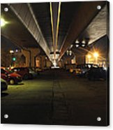 Under The Flyover  Acrylic Print