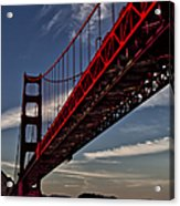 Under The Golden Gate Acrylic Print