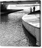 Under The Main Street Bridge Acrylic Print