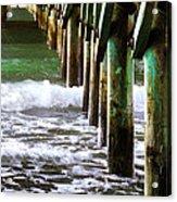 Under The Pier Acrylic Print