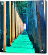 Under The Pier Too Acrylic Print