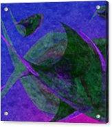Under The Sea Painterly Acrylic Print