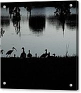 Under The Shadow Of The Day  Acrylic Print