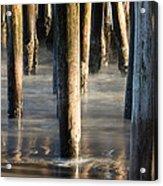 Under The Wharf Acrylic Print