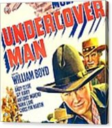 Undercover Man, Us Poster, Bottom Acrylic Print