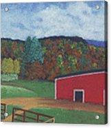 Undermountain Autumn Acrylic Print