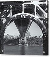 Underneath The George Washington Bridge Iv Acrylic Print