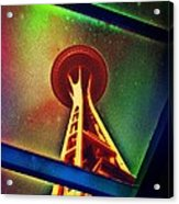 Underneath The Space Needle Acrylic Print