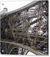 Underneath The Tour Eiffel Acrylic Print