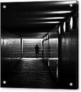 Underpass Berlin Acrylic Print