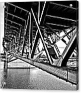 Underside Of The Burnside Bridge Acrylic Print