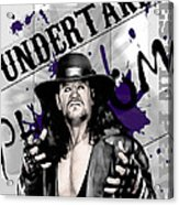 Undertaker Acrylic Print