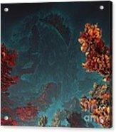Underwater 5 Acrylic Print by Bernard MICHEL